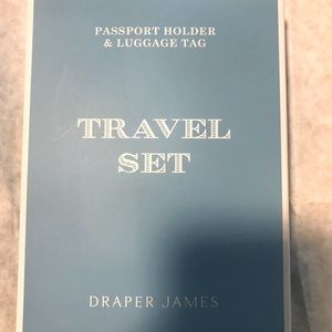 Brand New In Box luggage tag and passport holder